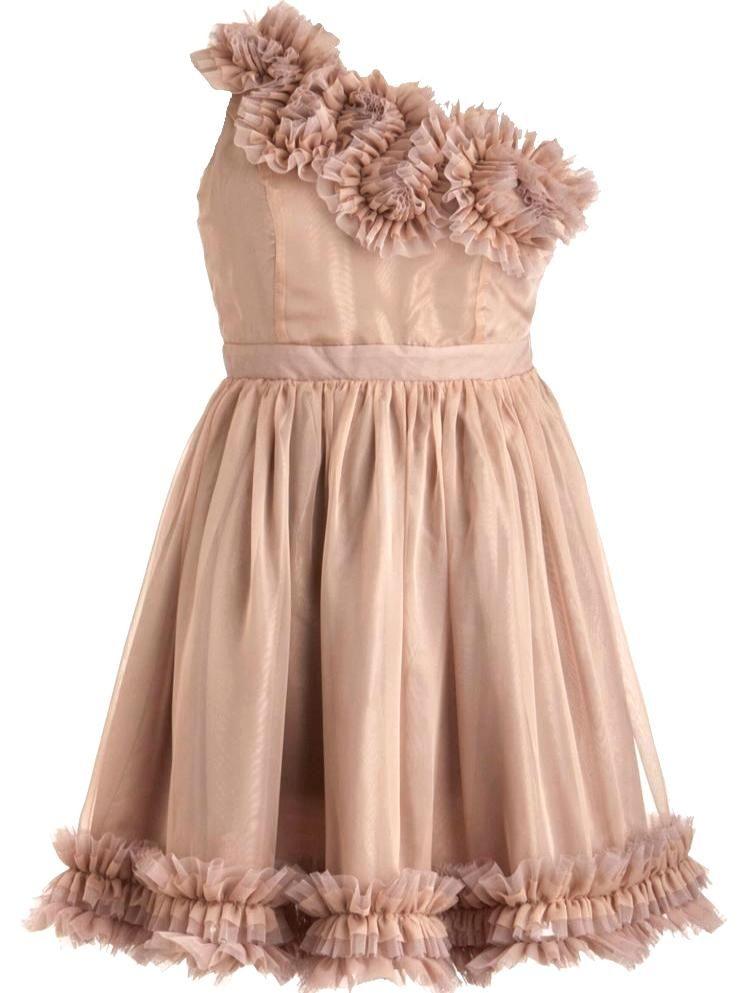 Fleur De Frills Dress Frill Dress Bodice And Shoulder