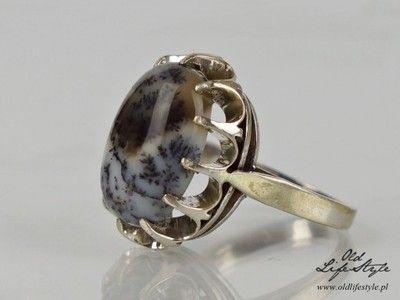 Srebrny Pierscionek Warmet Agat Mszysty 6808998713 Oficjalne Archiwum Allegro Polish Jewelry Jewelry Handmade Silver