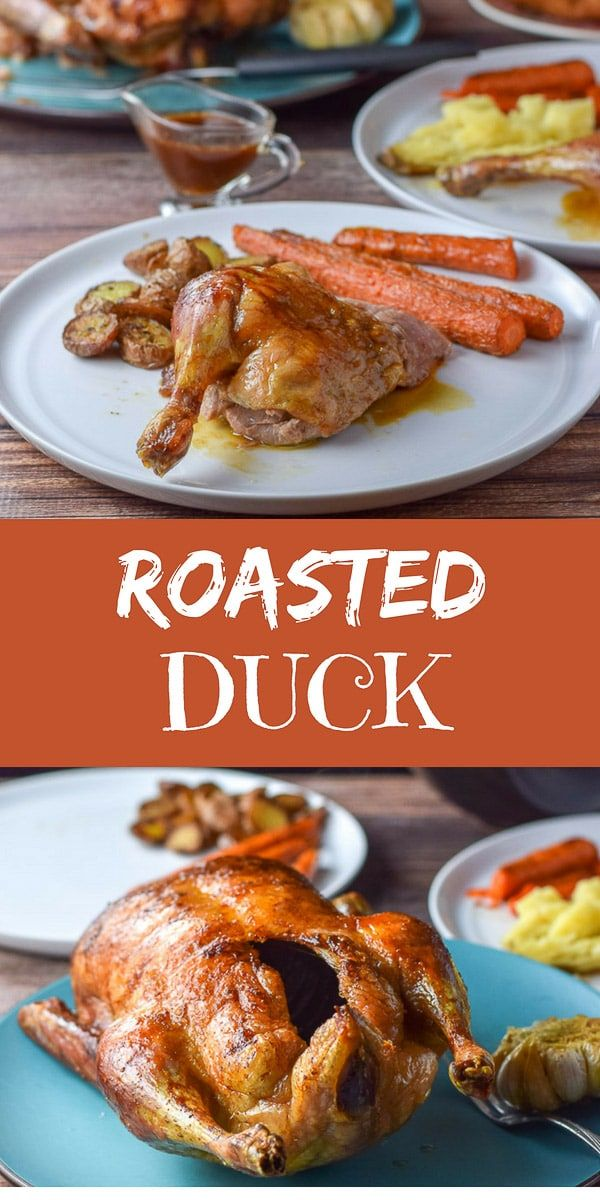This roasted duck is so delicious that it will be rabble