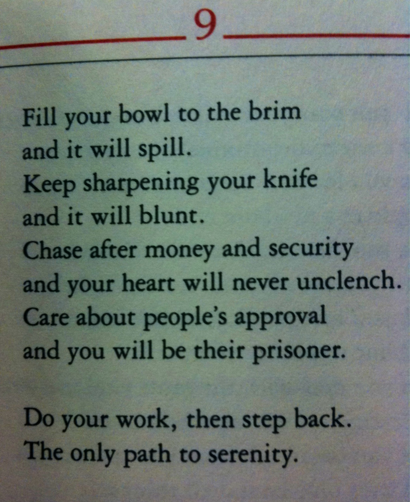 006 then step back Lao tzu quotes, Taoism, Tao te ching
