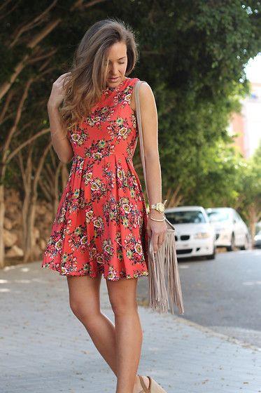 Armani Exchange  Dress, Zara Bag