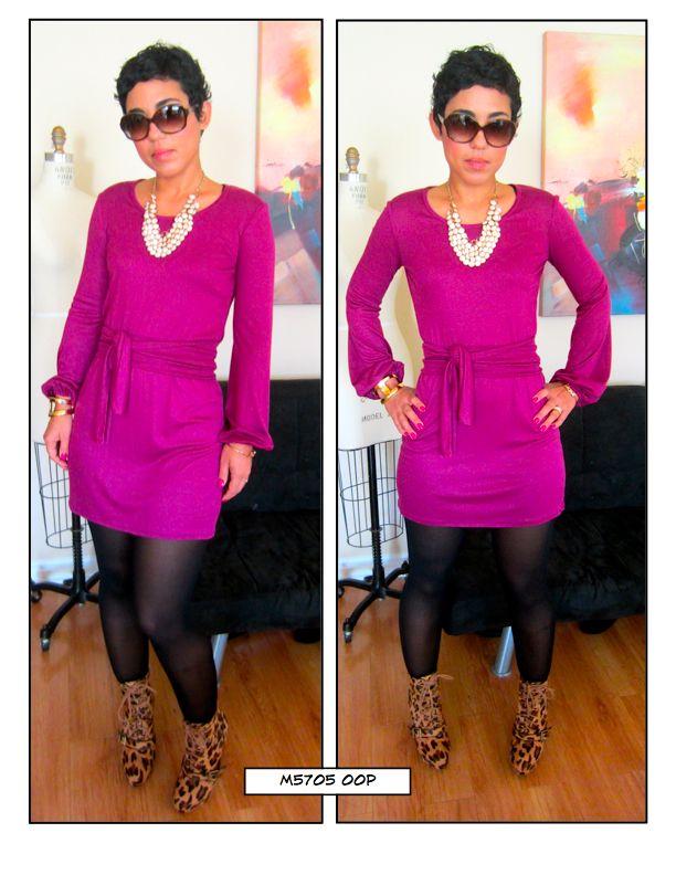DIY Dress: Pattern Review of M5705 View E http://www.mimigstyle.com/2012/01/diy-dress-pattern-review-of-m5705-view.html#.UuvyHD1dXO4