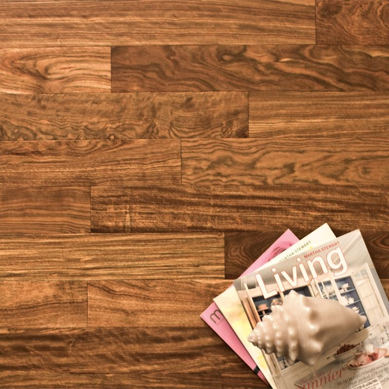 Ecotimber 3 1 8 Unstained Caribbean Rosewood Wood Flooring Engineered Hardwood Flooring Hardwood Floors Engineered Hardwood