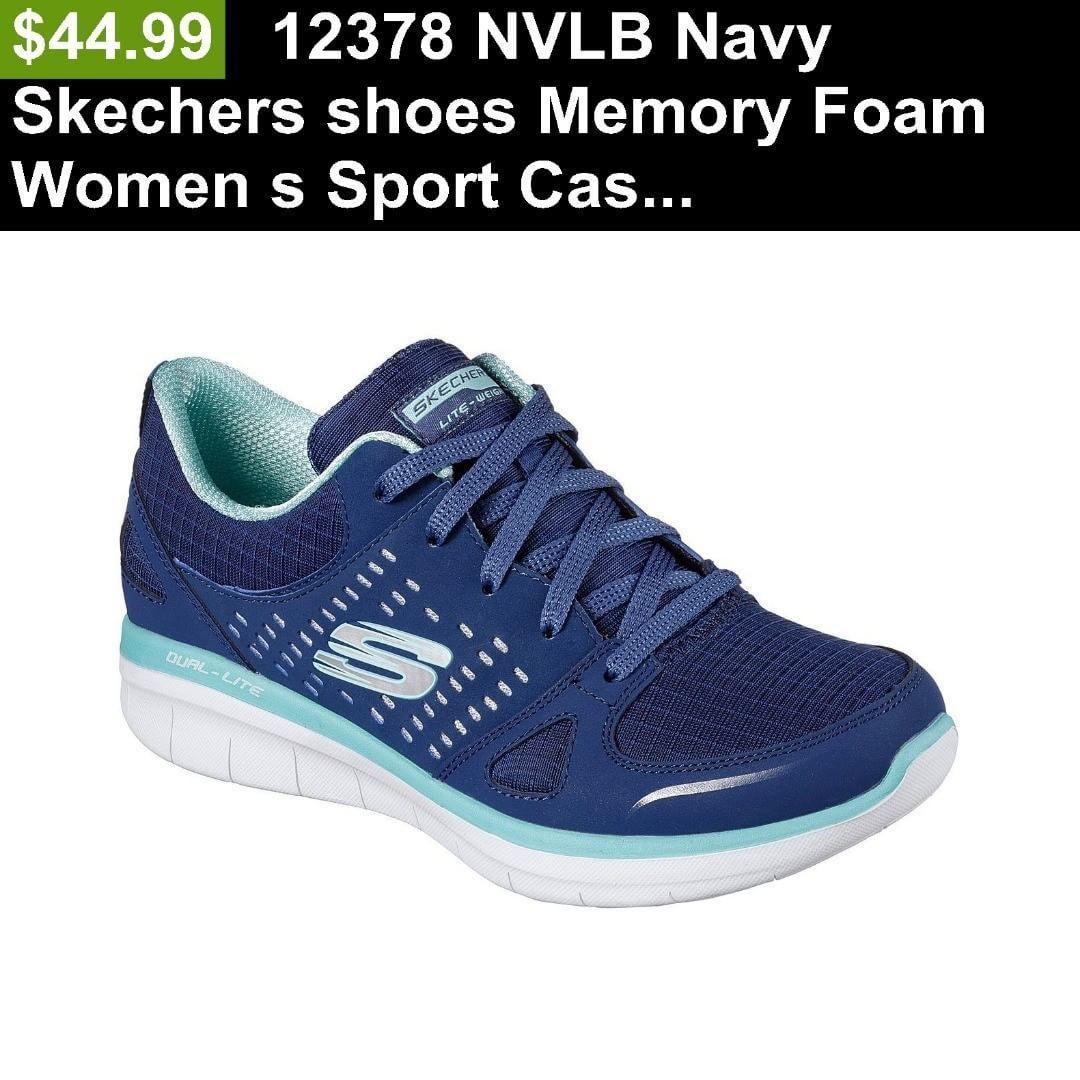 12378 NVLB Navy Skechers shoes Memory Foam Women s Sport Casual Comfort Lace Up  Buy it now $44.99 http://ift.tt/2HBQvlw  #shoes #shoe #fashionshoes #highheelshoes #heels #shoeswag #shoestagram #shoeslover #iloveheels #style #shoeslovers #heelsaddict #shoesoftheday #fashion #fashionista #fashions #heels #heel #slipper #slippers #boots #sandal #sandals #beautiful shoes #cute shoes #girl shoes #fun shoes #footwear #weddings #wedding #weddingshoes