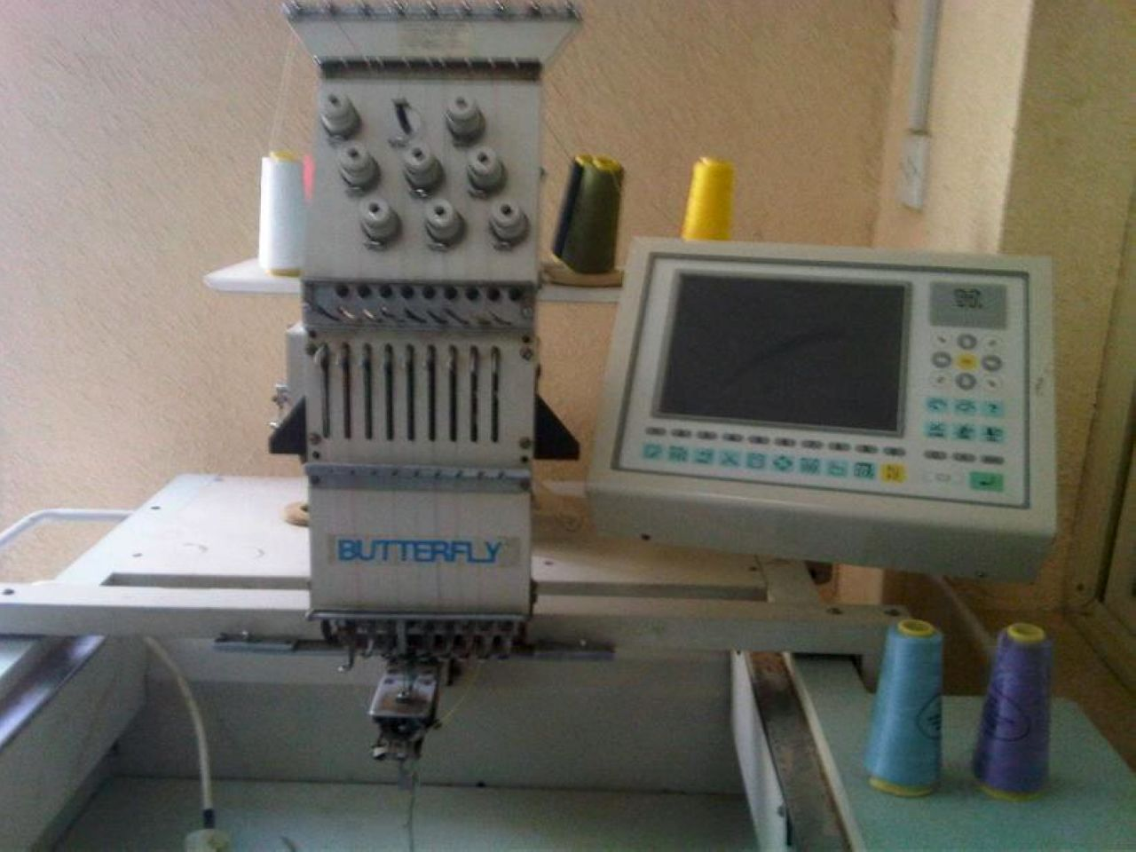 We Accept Commercial Embroidery Machines Trade In And Used