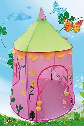 Wonderland Princess Palace Fairy Castle Pink Play Tent by POCO DIVO, http://www.amazon.com/dp ...