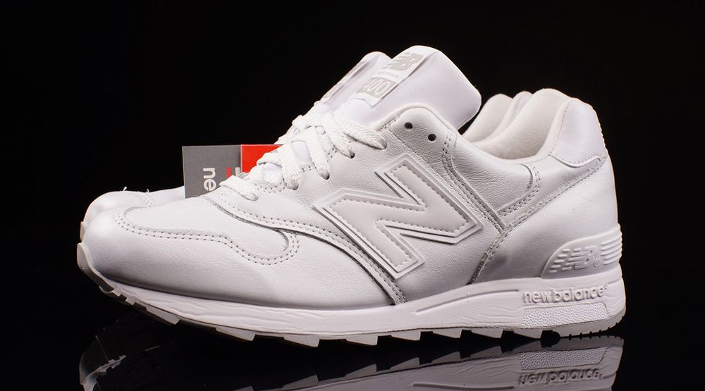 ~ lado dañar hombro  This Might Be the Cleanest New Balance 1400 Ever | New balance, White  leather, Leather