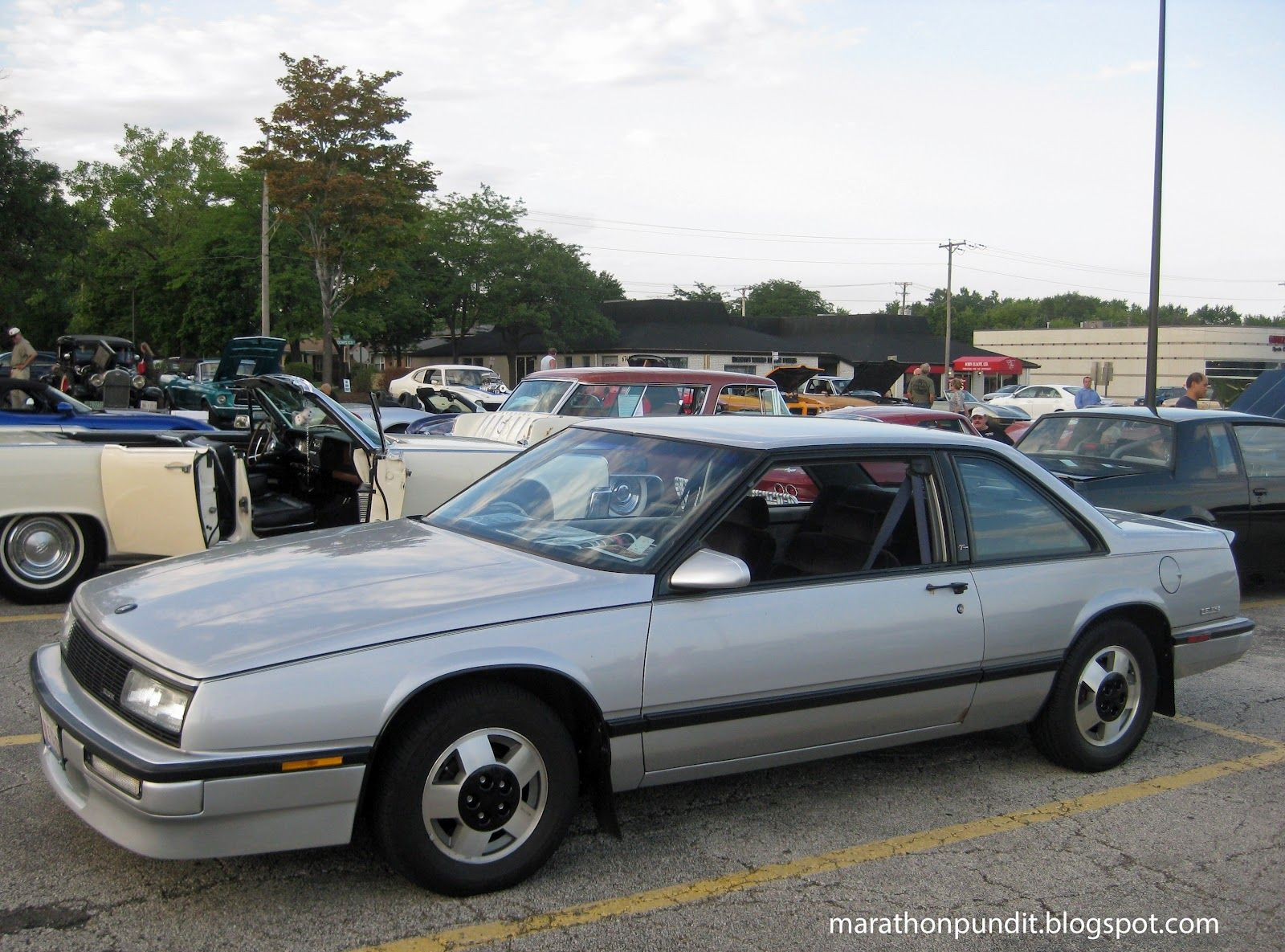 medium resolution of a rare 1989 buick lesabre t type morton grove classic car show july 27 2012
