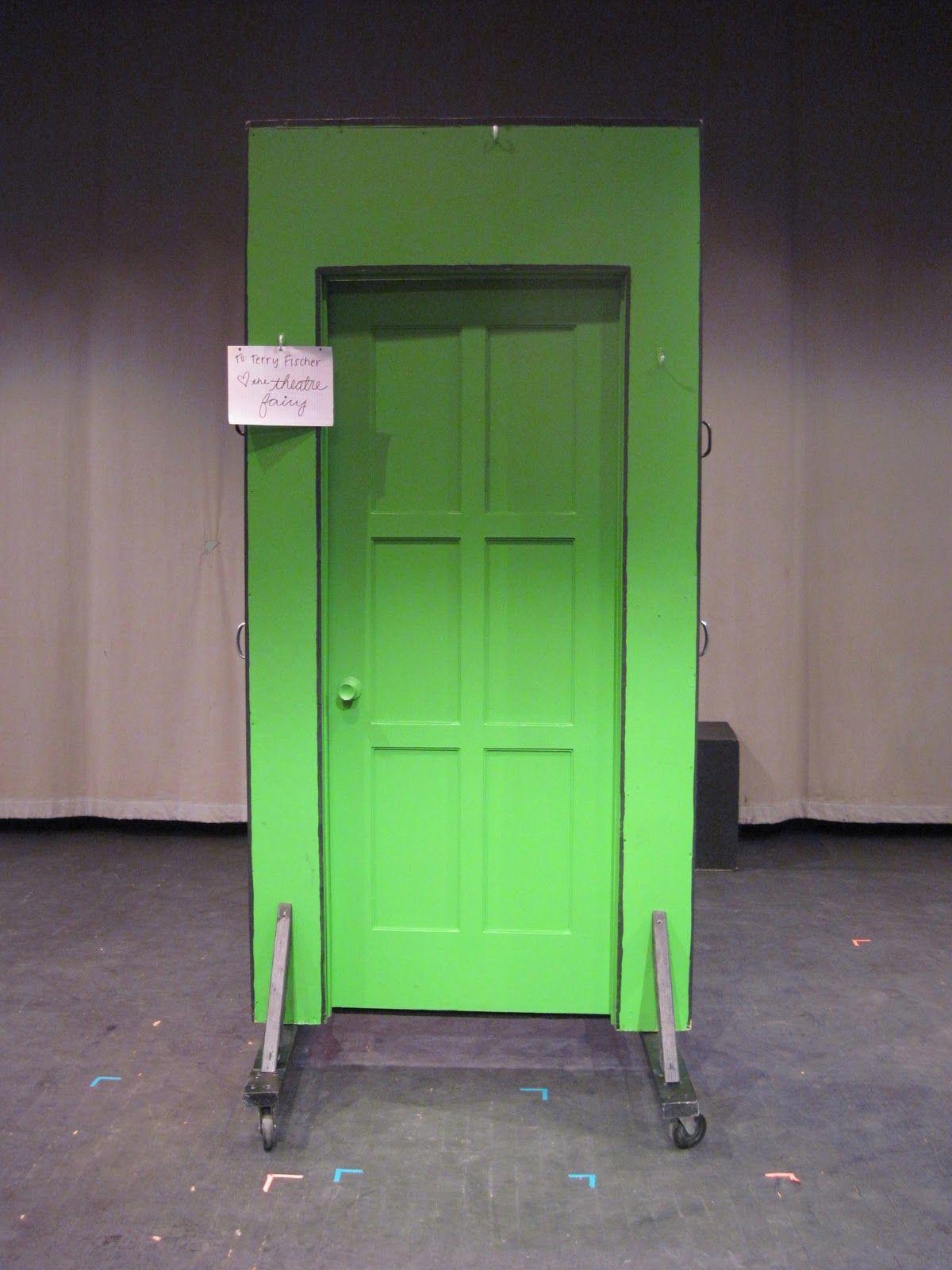 free standing door prop | The sign on the door says To Terry Fischer & free standing door prop | The sign on the door says To: Terry ...