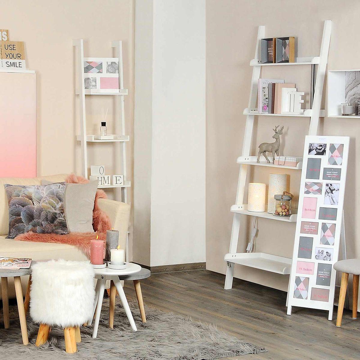 leiterregal gro aus mischholz l 66 x t 35 x h 189cm. Black Bedroom Furniture Sets. Home Design Ideas