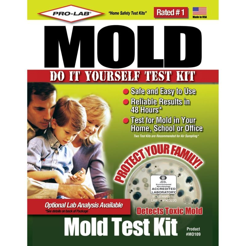 Pro lab mo109 do it yourself mold test kit safety test kits mold pro lab 35591007 na do it yourself mold and allergens test kit solutioingenieria Gallery