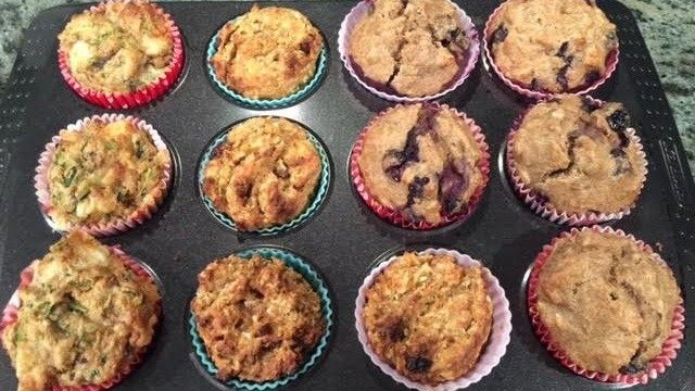 Tonia's treating us to some more Eat More, Lose More,  recipes that we can nibble on without breaking our diet. Those on a gluten-free diet will especially love these sweet treats, full of goodness.