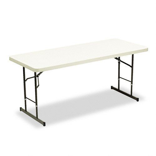 Iceberg 65623 72 By 30 By 25 29 Inch Adjustable Height Folding Table Platinum By Iceberg 191 63 Holds Up To 6 With Images Folding Table Adjustable Height Table Table