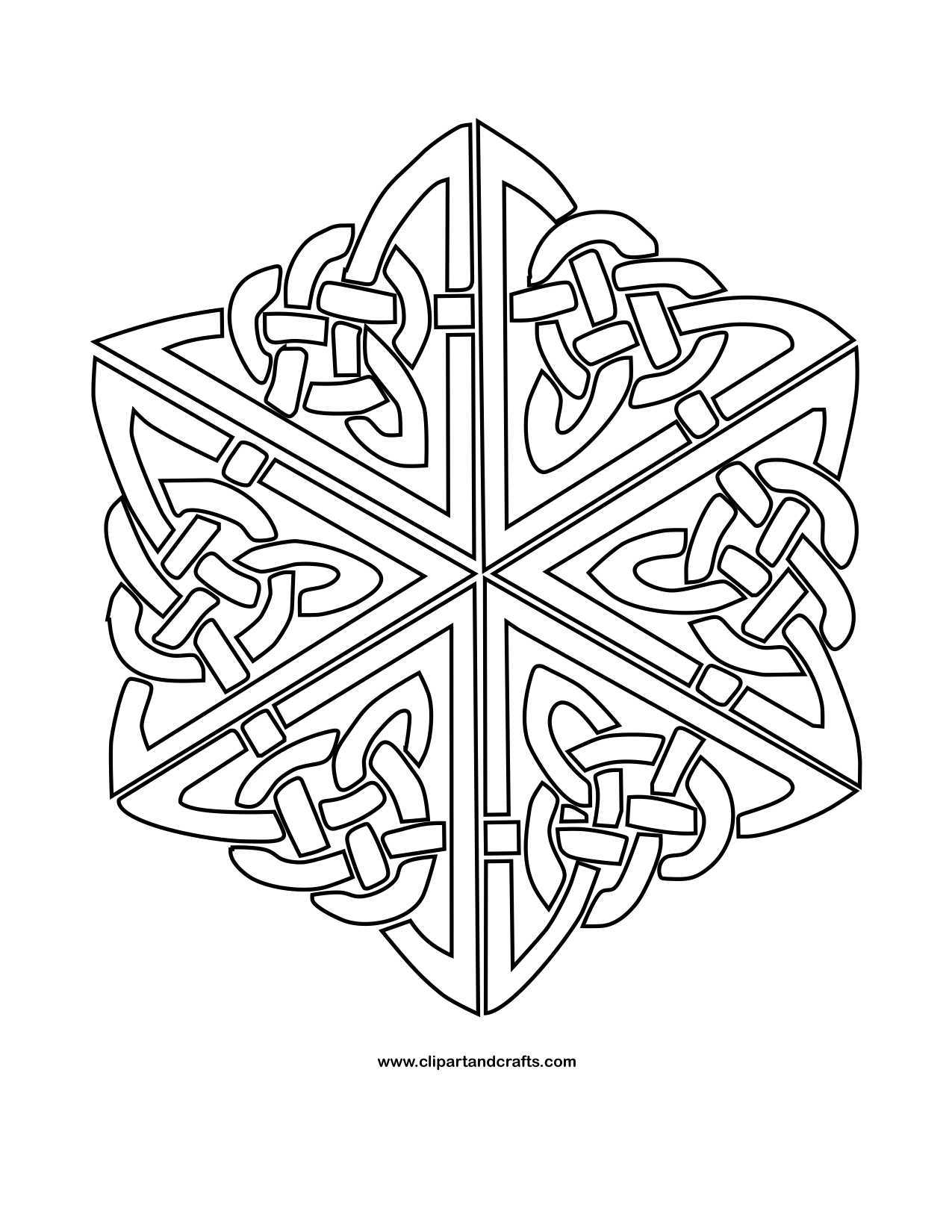 celtic knot 1 mandala monday more free celtic mandalas to