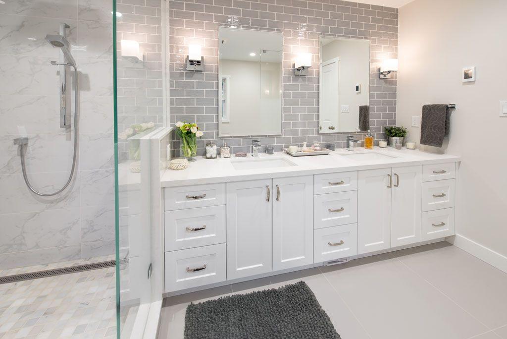 Bathroom Renovation - North Vancouver - The Del | Bathroom ...