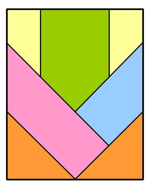 Resultado de imagen de tangram pitagorico