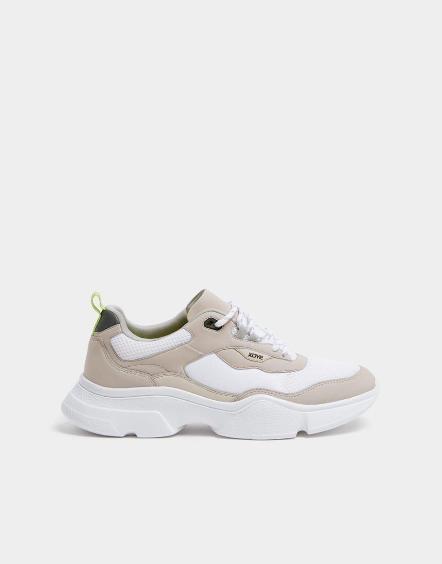 XDYE chunky sole trainers - PULL\u0026BEAR