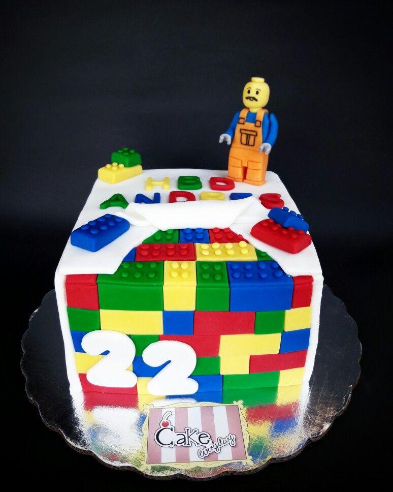Pastel de Lego Lego Cake