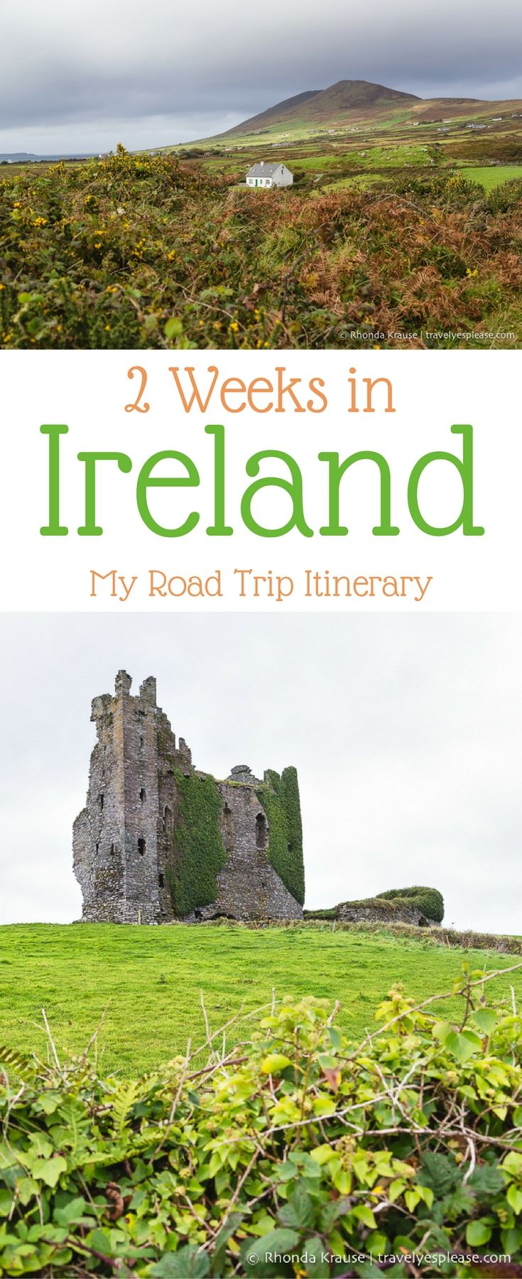 travelyesplease.com | 2 Weeks in Ireland- My Ireland Road Trip Itinerary (Blog Post) | Includes a map, drive times, planning tips, plus hits & misses from my 2 weeks in Ireland.