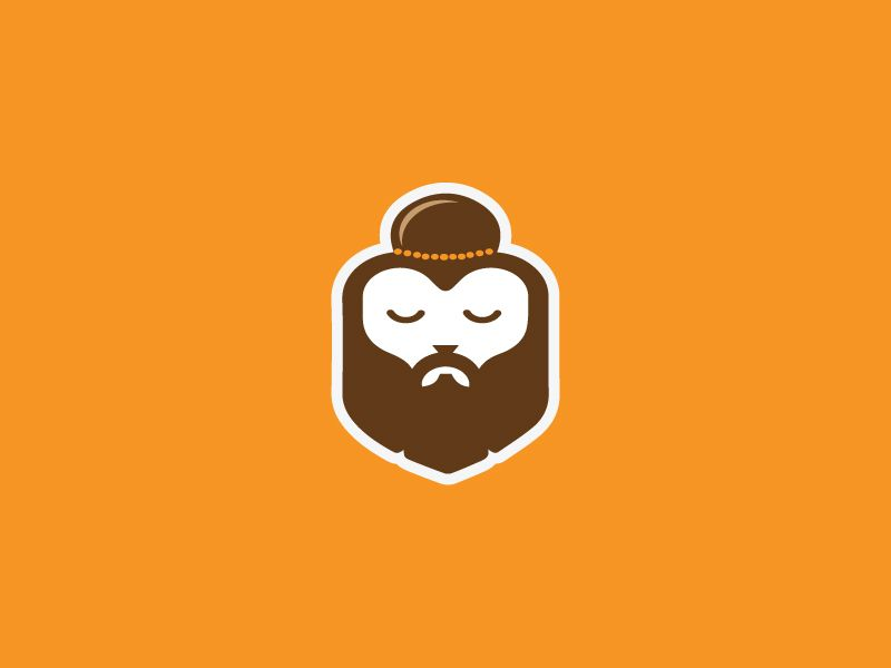 the meditating rishi meditation logo face best icons www pinterest ru