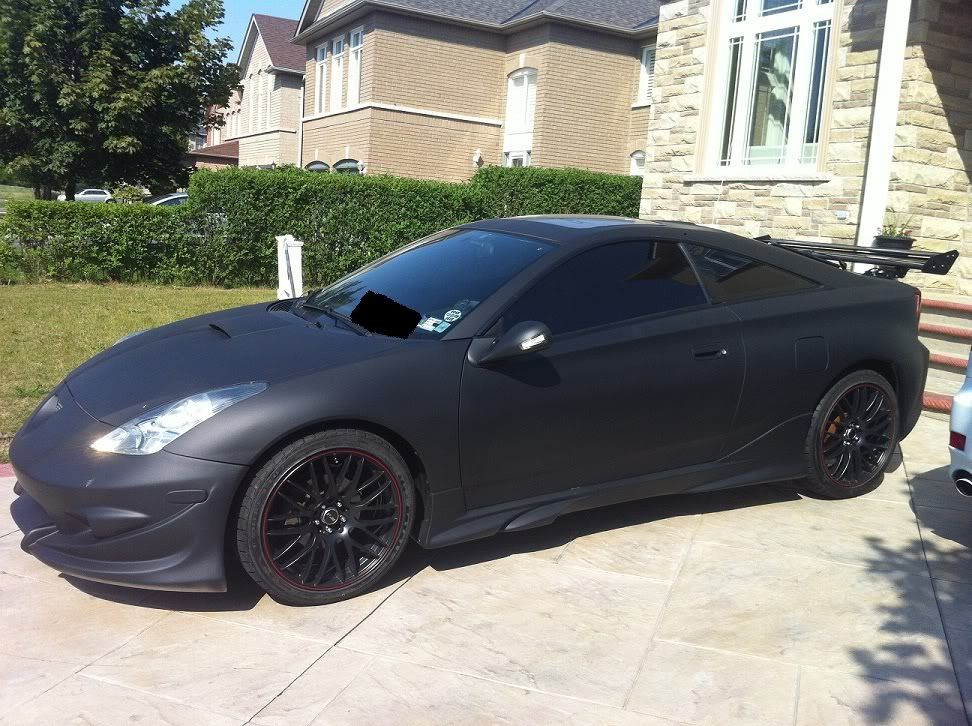 Matte Black Toyota Celica Gt S Completed A Month Quot Ish Quot