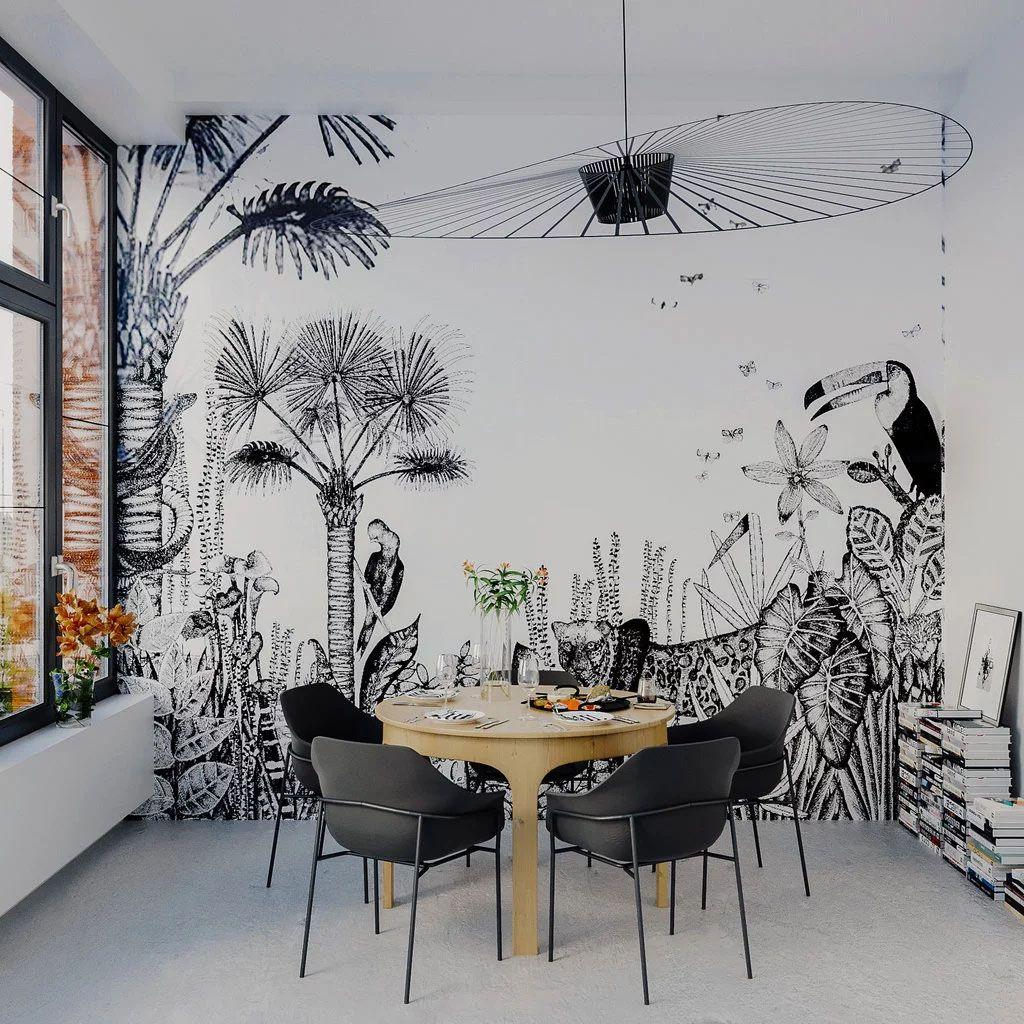 18++ Deco tapisserie salle a manger ideas in 2021