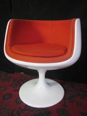 Eero Aarnio Style Vintage Pod Egg Wine Glass Chair