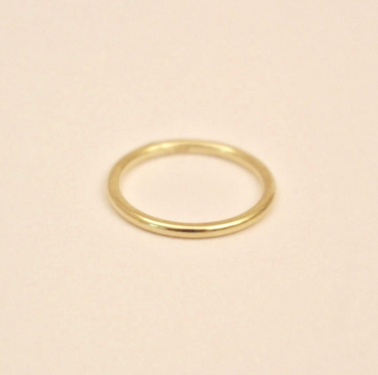 10k Gold Ring10k Band Ring10k Full Round Ring 10k Gold Band Etsy 10k Engagement Ring Gold Band Ring 10k Gold Ring