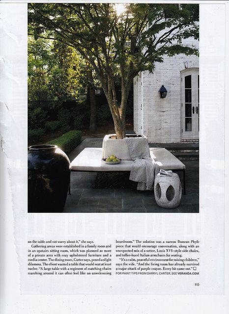 Darryl Carter On Ybhs Via Veranda Magazine Front Yard Outdoor Rooms Outdoor Gardens Outdoor