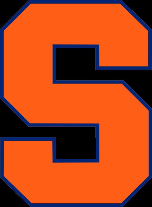 Syracuse Orange Football Team Logo Syracuse Football Syracuse University College Football Logos