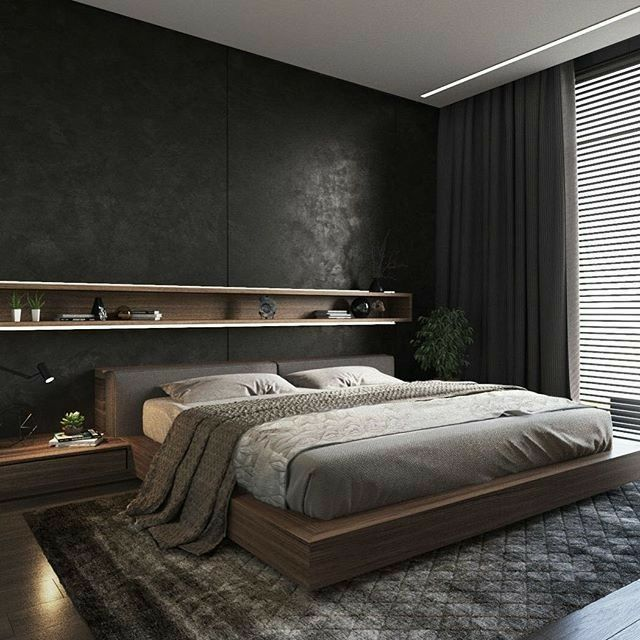 Best Faux Leather Wallpaper Looks Stunning In This Bedroom We 640 x 480