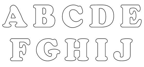 Letras para Patchwork para imprimir | deco | Pinterest