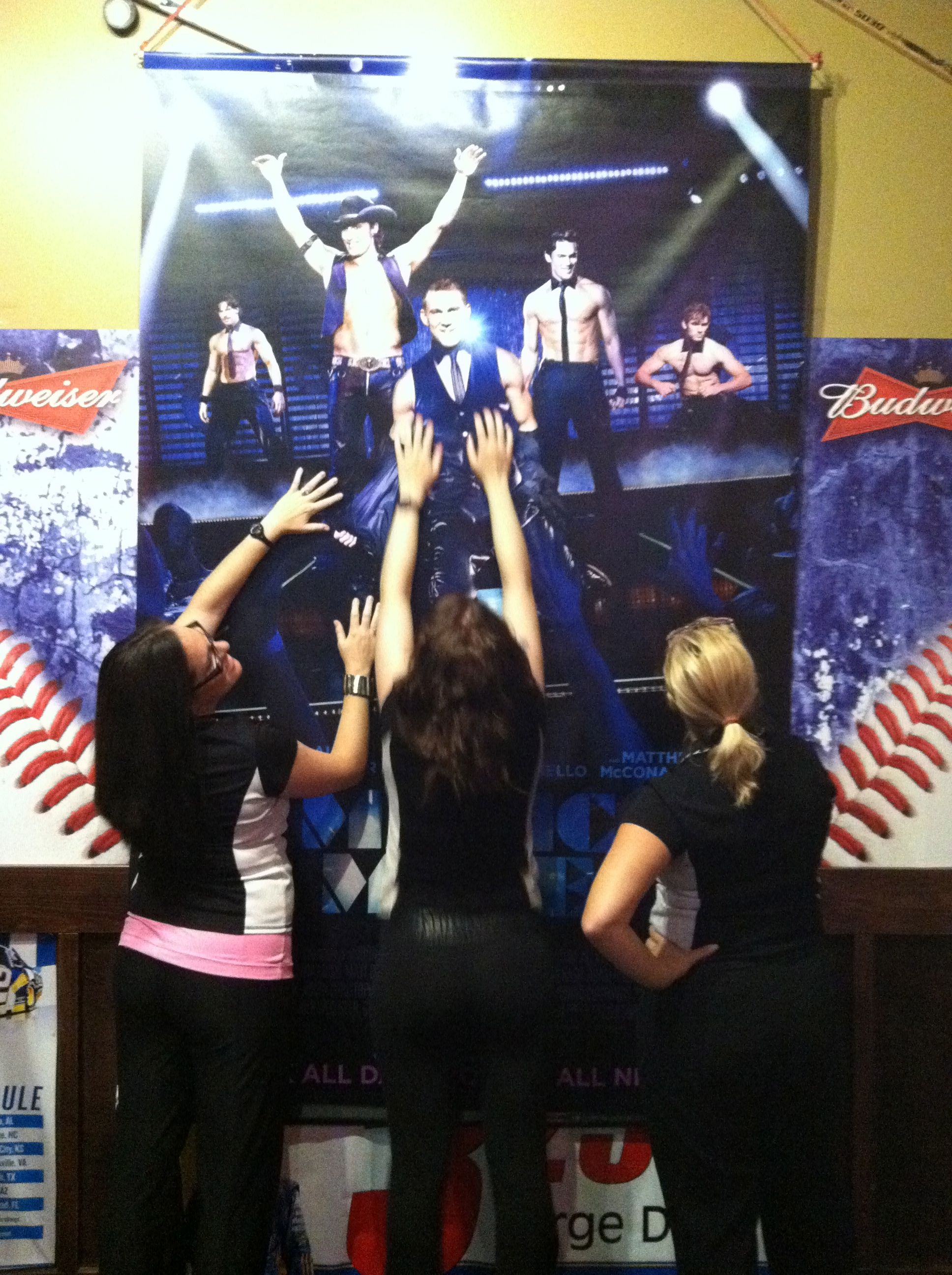 Magic Mike ticket giveaway at Ladies Night! (With images