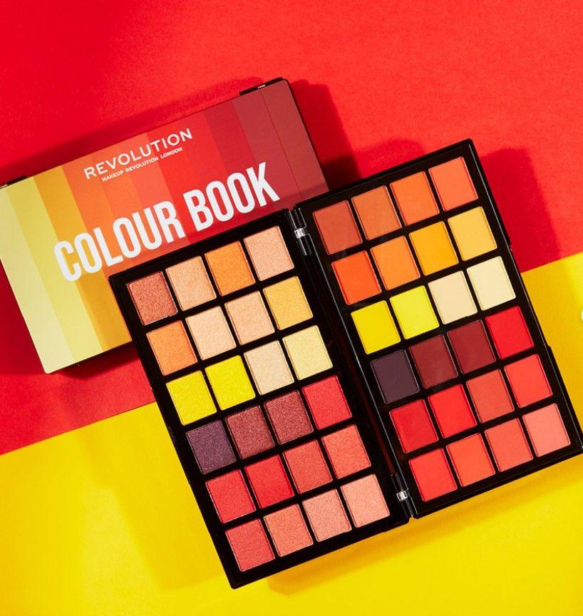 Makeup Revolution Colour Book Palettes Makeup Revolution Coloring Books Shadow Palette