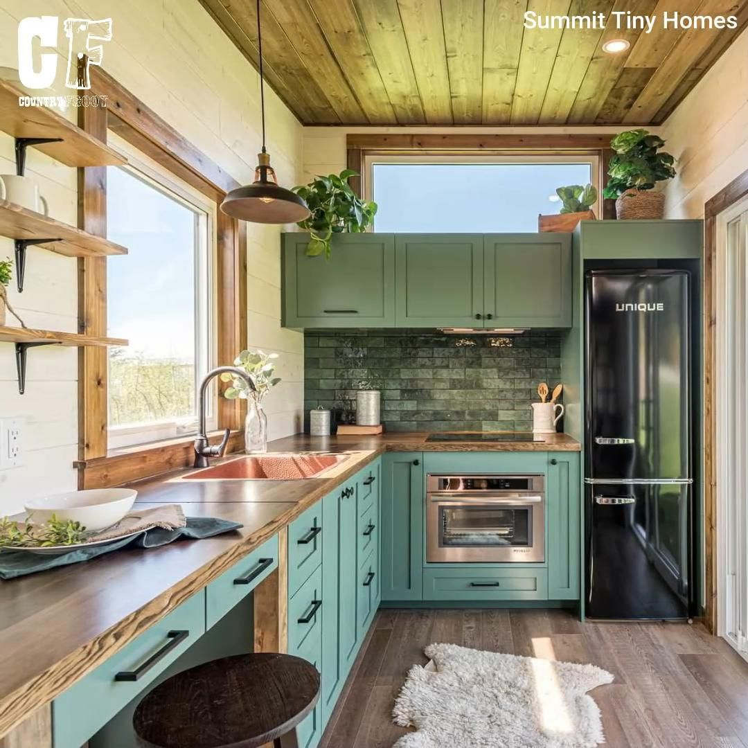 Photo of Tiny House With Movable Kitchen Island