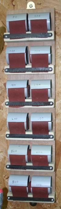 The completed sandpaper dispenser  click for larger view  Today Pin  The completed sandpaper dispenser  click for larger view
