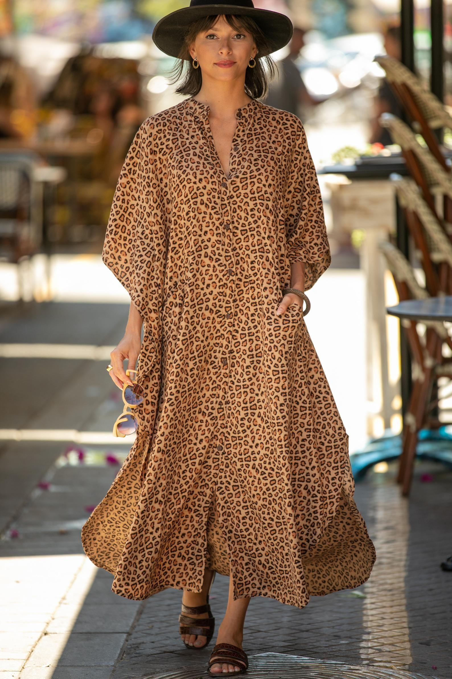 Leopard Print Oversize Kaftan Maxi Dress Boho Hipster Caftan Summer Urban Vacation Dress Hipster Abaya Women S Dress Plus Size Dress Printed Beach Dresses Boho Shift Dress Kaftan Maxi Dress [ 2382 x 1588 Pixel ]