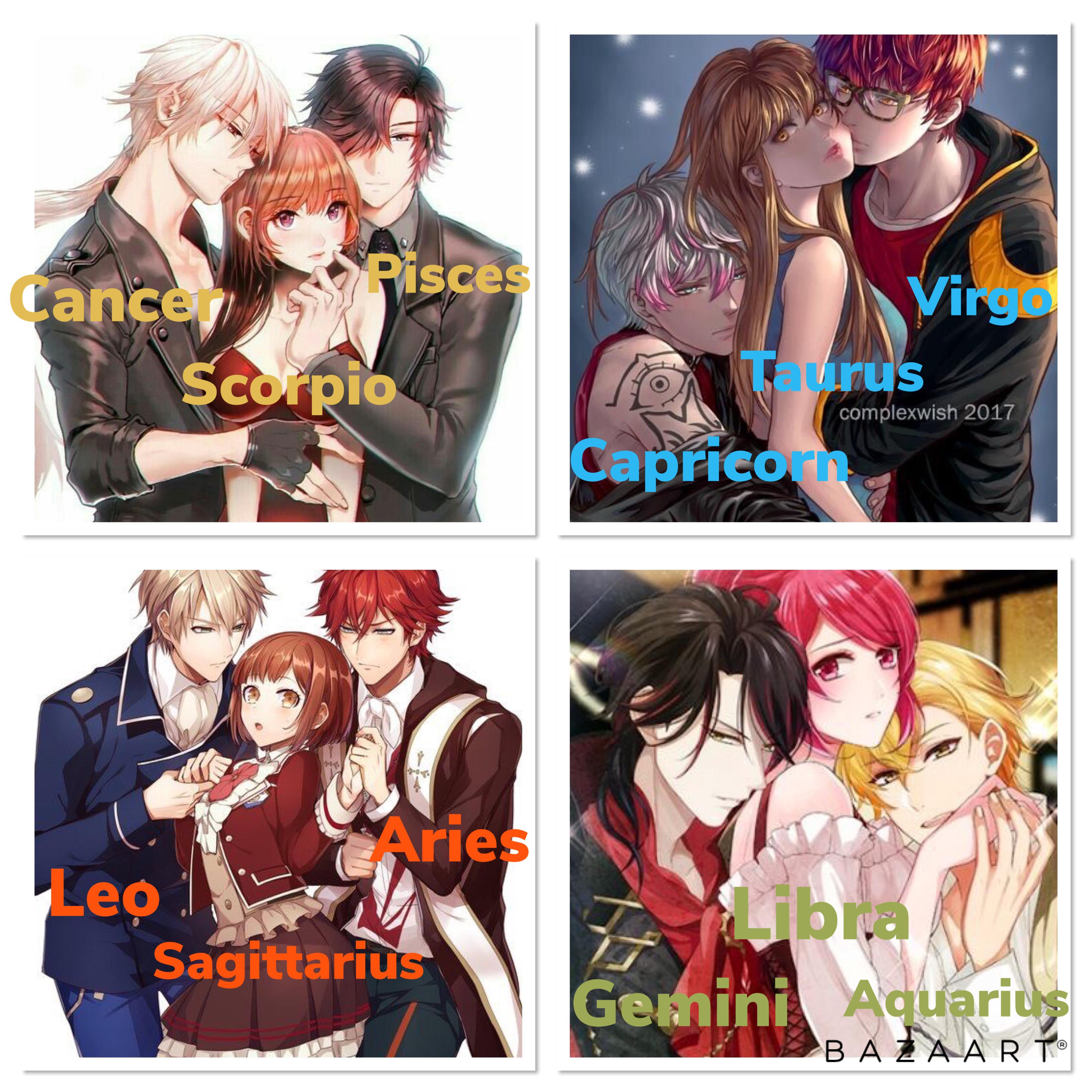 Signos Del Zodiaco Anime Zodiac Zodiac Signs Gemini Zodiac Characters