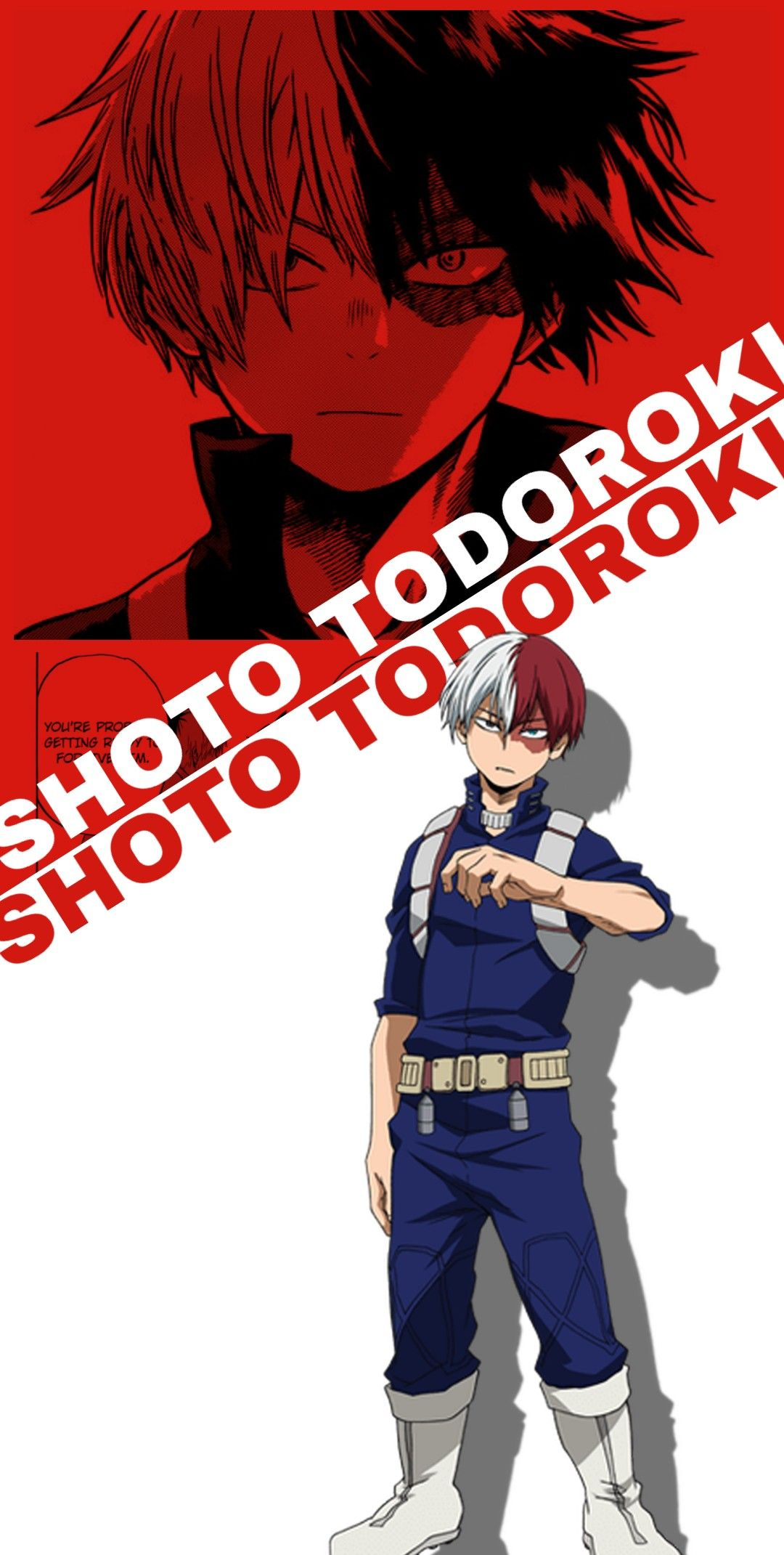 Shoto Todoroki Wallpaper Hero Wallpaper Cute Anime Wallpaper Anime Boyfriend