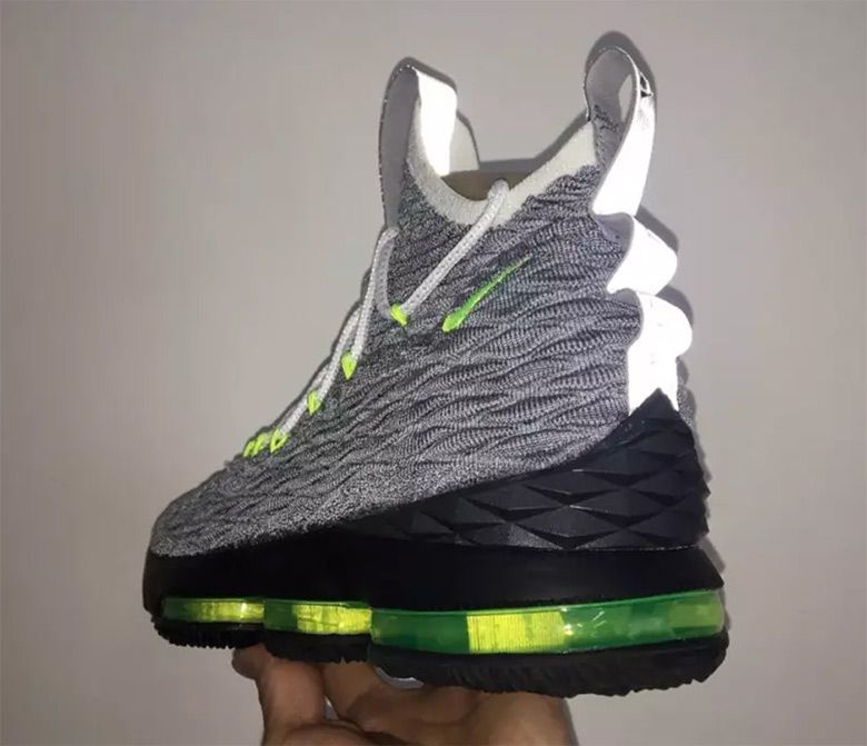 37144cf8d40673 Nikes Next  LeBronWatch Release Is Inspired By The Air Max 95 Neon ...