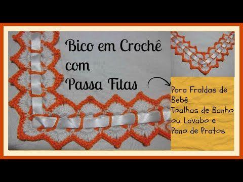 Caseado Em Croche Para Toalha Pano De Prato E Fraldas Modelo Favo
