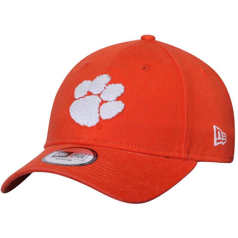 Clemson Tigers New Era Relaxed 49FORTY Fitted Hat - Orange