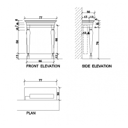 Radiator cover cad drawing mechanical cad blocks pinterest autocad drawing of a radiator cover ccuart Images