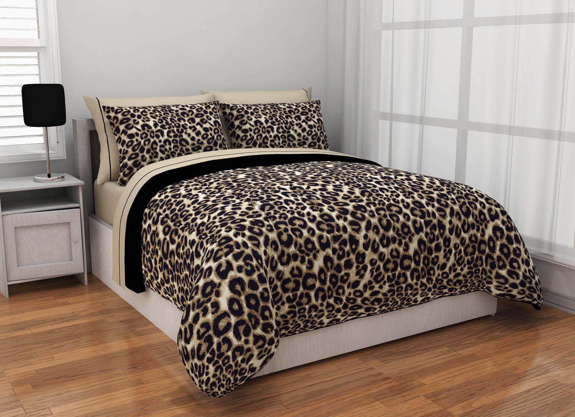 Lenzuola Leopardate Matrimoniali.Pin Di Tinaa Su Leopardato Camere Parquet