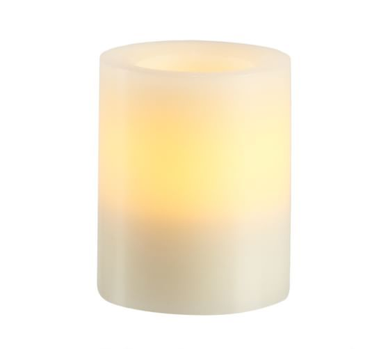 Pottery Barn Flameless Candles Interesting Flameless Wax Pillar Candle  Pottery Barn  Candle  Pinterest