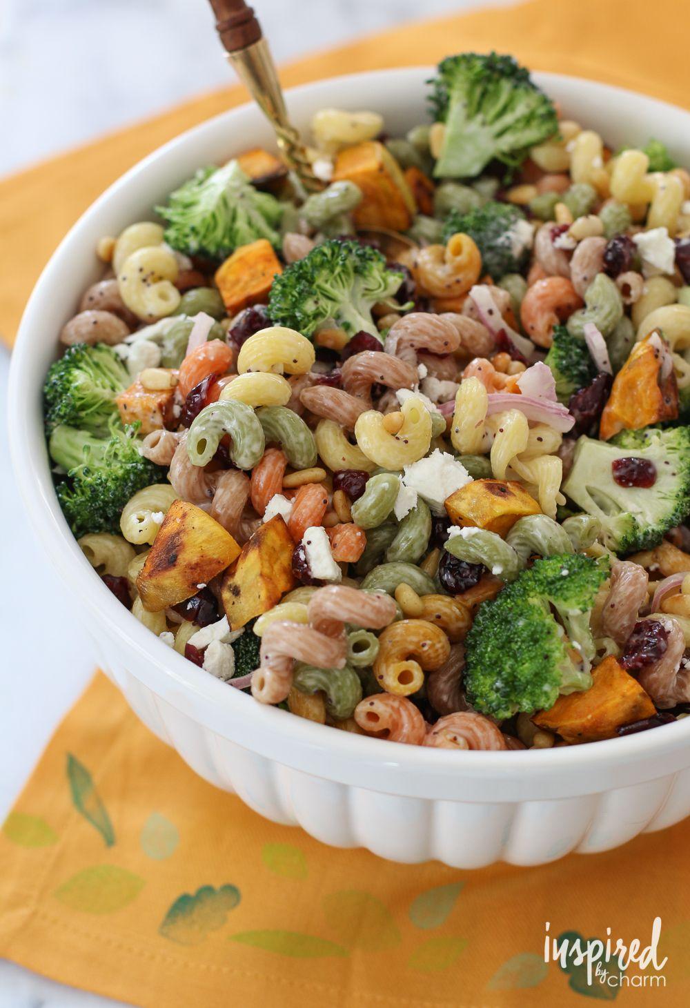 Fall Pasta Dinner: Fall Harvest Pasta Salad From @inspiredbycharm