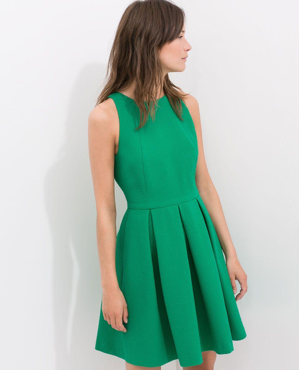 Vestidos Vestido Espalda Modelitos Abierta Mujer Zara pq7f00