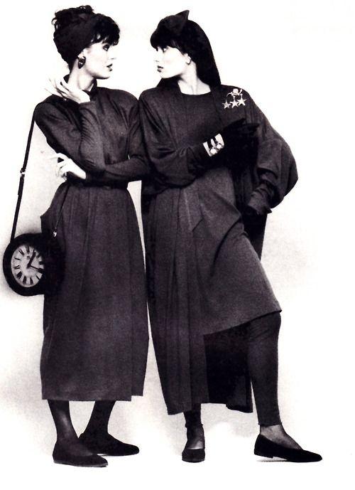 Marilyn Brooks, Flare magazine, September 1987. Photograph by Yolanda.