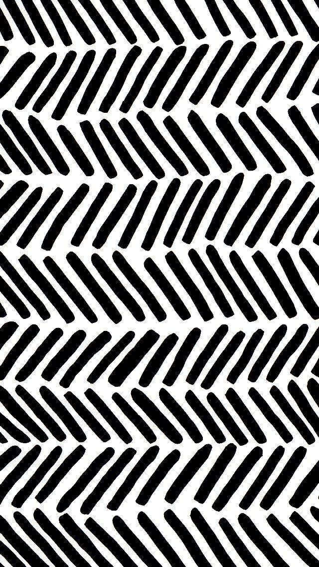 Broken Chevron Pattern From Cotton Flax Pattern Wallpaper Chevron Wallpaper Iphone Wallpaper Black and white pattern wallpaper iphone