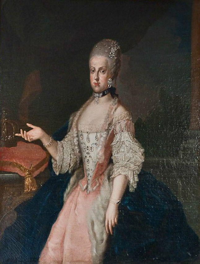 1770 Maria Carolina of Austria as Queen of Naples by Francesco Liani